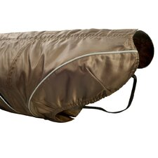Dog Rain Jacket in Brown