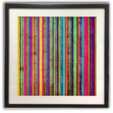 Neon Stripe Wall Art