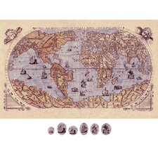 World Map Magnetic Wall Art
