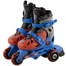 Ultimate Spiderman Junior Convertible 2-in-1 Boy's Inline Skates