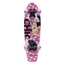"Disney Minnie Mouse Wood Cruiser 21"" Complete Skateboard"