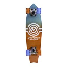 "Kryptonics Fishtail Cruiser 24"" Complete Skateboard"