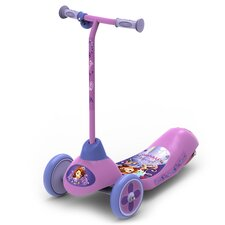 Disney Sofia the First Safe Start 6V 3 Wheel Electric Scooter