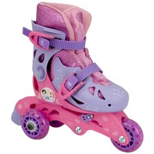 Disney Princess Sparkle Convertible Girl's Inline Skates
