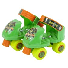 Teenage Mutant Ninja Turtles Junior Rollerskate with Knee Pads