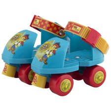 Disney Jake and the Pirates Junior Rollerskate with Knee Pads