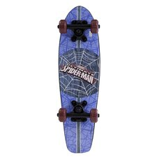 "Ultimate Spiderman Wood Cruiser 21"" Complete Skateboard"