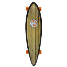"Kryptonics Pintail Ocean Eye Graphic 37"" Complete Skateboard"