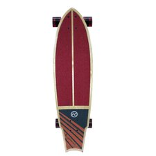 """Kryptonics Swallow Tail Choice Graphic 34"""" Complete Skateboard"""
