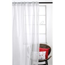 <strong>LJ Home</strong> Whisper Sheer Rod-Pocket Window Panel Set (Set of 2)