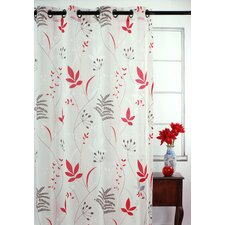 Blossom Drapery Grommet Window Panel (Set of 2)