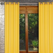 Karma Window Grommet Curtain Panel (Set of 2)