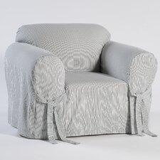 Stripe Twill Armchair Slipcover