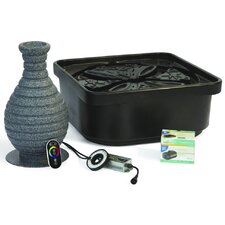 2.9 GPM Color Changing Vase Fountain Kit