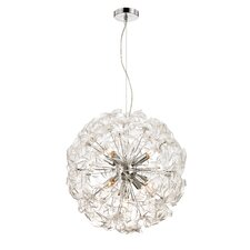 Clearvoyant 9-lt (pinwheel) Medium Pendant