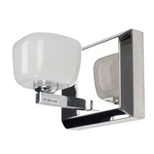 Opaltine 1 Light  Bath Wall Sconce