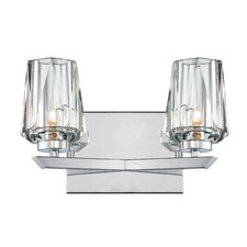 <strong>Alternating Current</strong> Ginsu 2 Light Bath Vanity Light