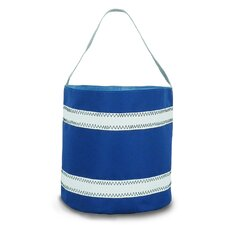 <strong>SailorBags</strong> Nautical Stripe Bucket Bag