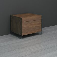 <strong>Casabianca Furniture</strong> II Vetro Drawer Nightstand