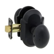 Sandcast Sorrento Passage Curved Entry Knob