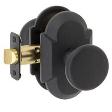 Sandcast Tuscan Passage Curved Entry Knob