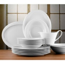 Allegro 16 Piece Dinnerware Set in White