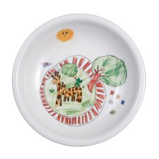 Compact Zoo 25cm Soup Plate with Banner