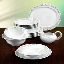 Monaco Larvotto 16 Piece Dinnerware Te Set