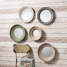 5 Piece Crosby Mirror Set