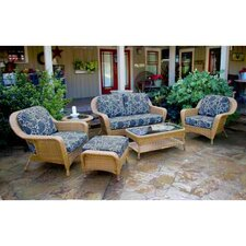 Lexington 6 Piece Deep Seating Group with Cushion