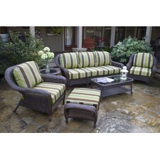 <strong>Tortuga Outdoor</strong> Lexington 6 Piece Seating Group with Sofa