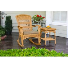 Portside 3 Piece Plantation Rocker Set (Set of 3)