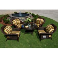 <strong>Tortuga Outdoor</strong> 5 Piece Conversation Seating Group
