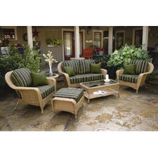 <strong>Tortuga Outdoor</strong> Lexington 6 Piece Deep Seating Group with Cushion
