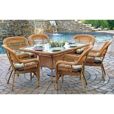 <strong>Tortuga Outdoor</strong> Portside 7 Piece Dining Set