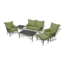Westgate 6 Piece Loveseat Seating Group with Cushions