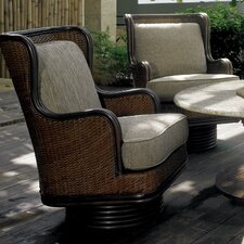 Outdoor Palm Beach Swivel Rocker with Cushions