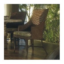 Outdoor Palm Beach Dining Arm Chair with Cushion