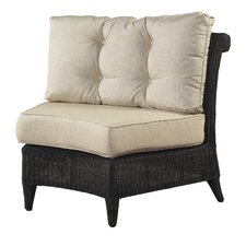 <strong>Padmas Plantation</strong> Outdoor Gulf Shore Dining Arm Chair with Cushion
