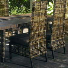 Outdoor Emperor Dining Side Chair with Cushion