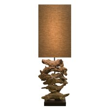 "Natura 28.08"" H Organic Table Lamp"