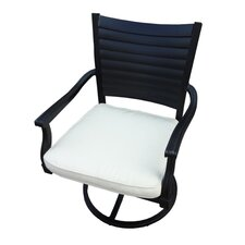 New North Shore Kotlas Swivel Dining Arm Chair