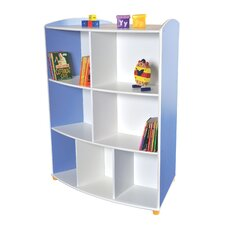 Elite Double Sided Curved Unit with 3 Shelves