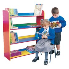 Primary Coloured 3 Shelf Bookcase