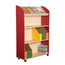 Primary Coloured 3 Shelf Bookcase and Display Unit