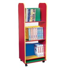 Primary Coloured Mini Book Trolley