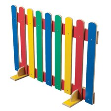 Primary Coloured Picket Fence Room Divider