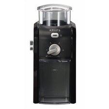 12-Cup Burr Coffee Grinder in Black