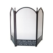 Three Panel Fire Screen