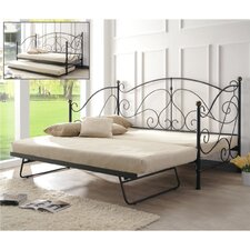 Milano Single Day Bed with Trundle